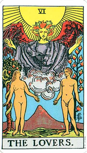 tarot card the lovers