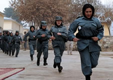 Afghan Police Women Want Out