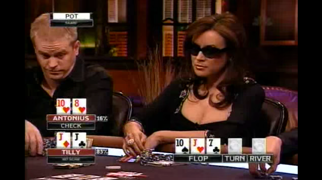 Jennifer Tilley poker