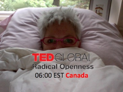 TEDGlobal Susan viewing