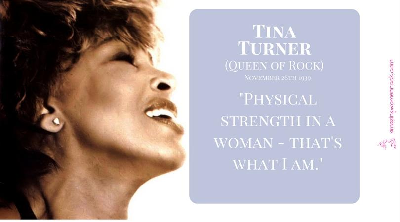 Tina Turner (Queen of Rock)