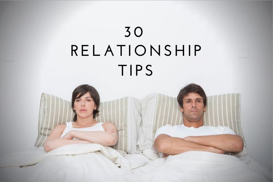 30 relationship tips