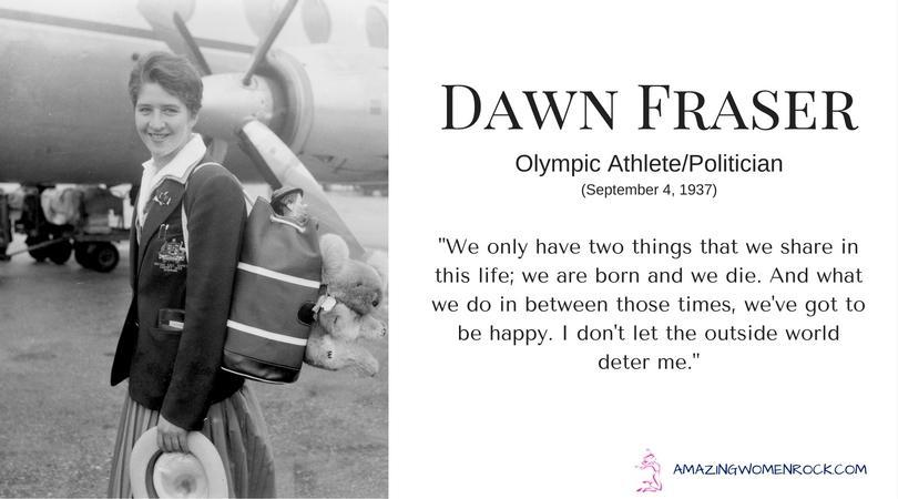 Dawn Fraser (Olympic Athlete/Politician)