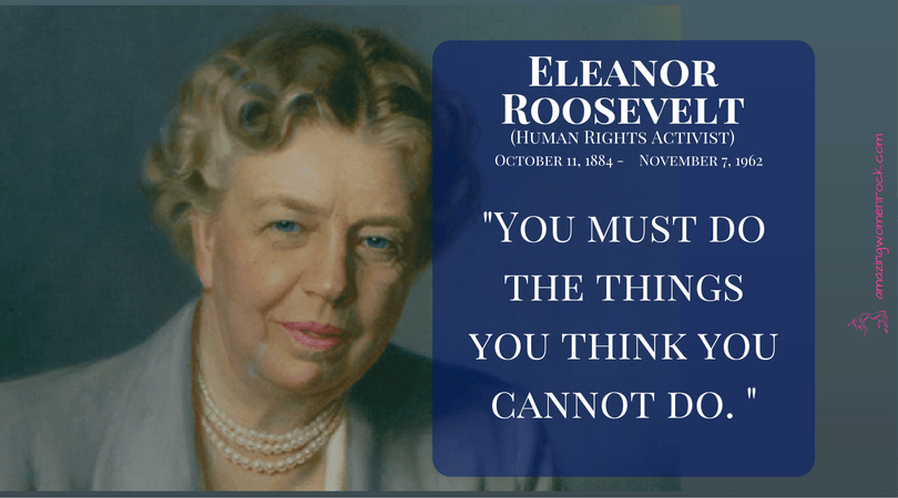 Eleanor Roosevelt (First Lady/U.S. Delegate to the UN/Human Rights Activist)