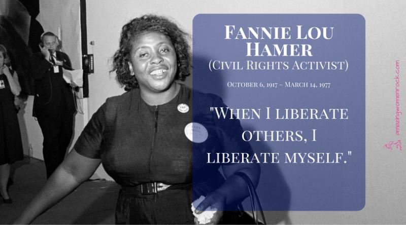 Fannie Lou Hamer (Civil Rights Leader)