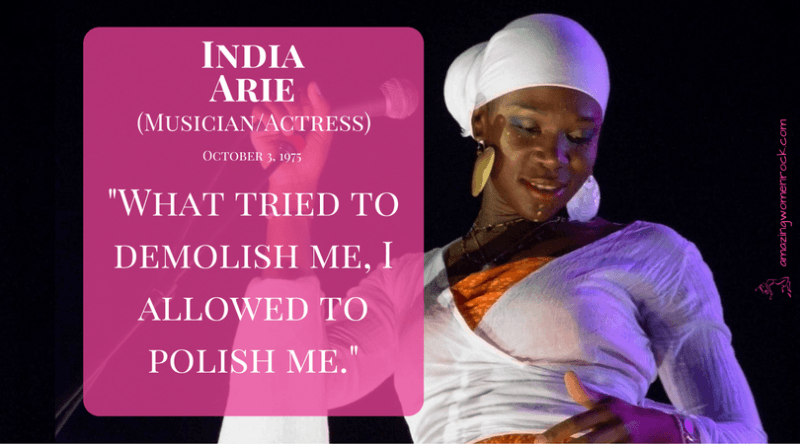 India Arie (Musician/Actress)
