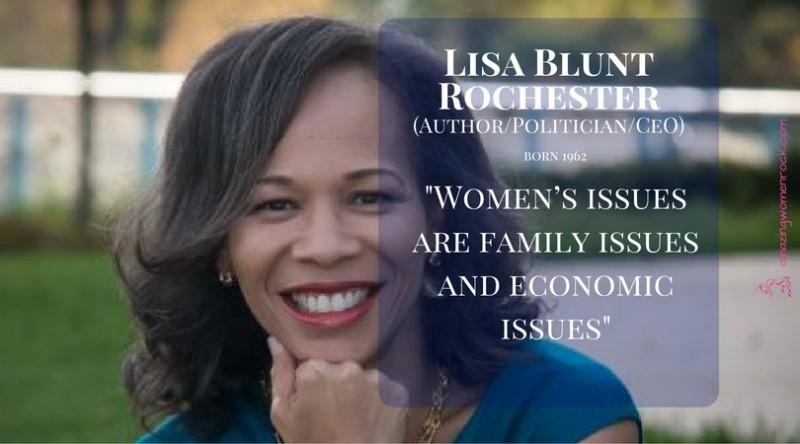 Lisa Blunt Rochester (Author/CEO/Politician)