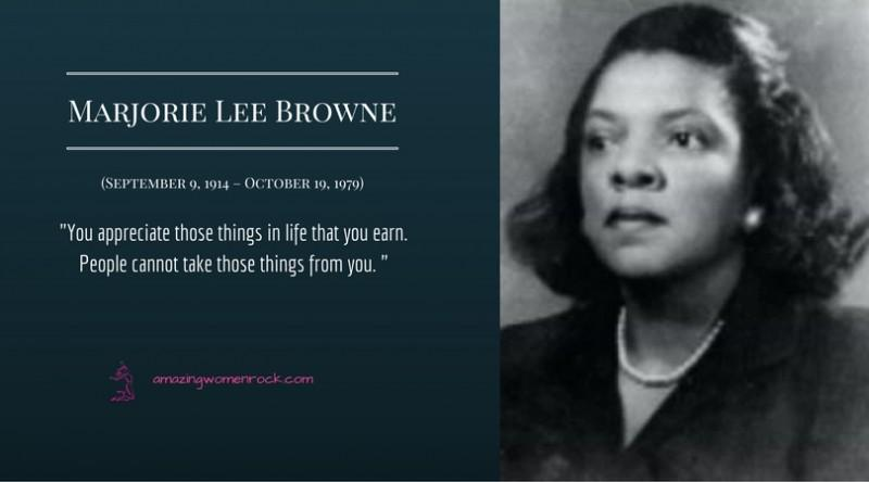 Marjorie Lee Browne (Mathematician / Educator)