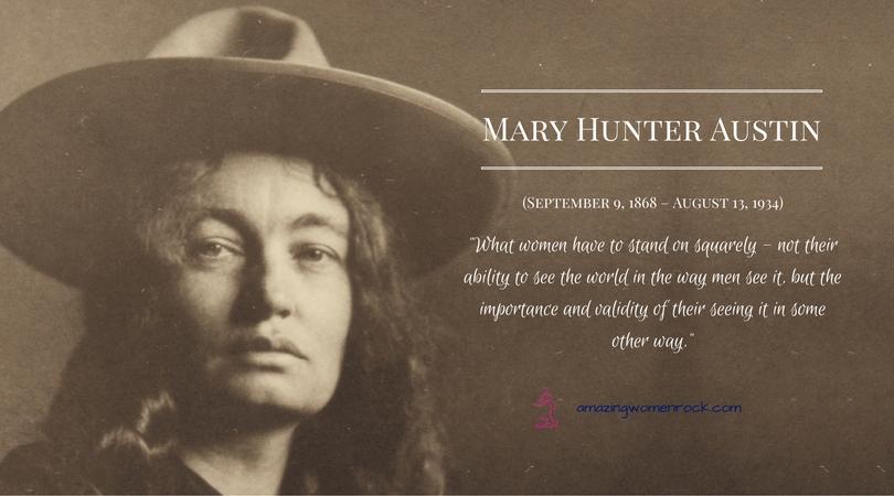 Mary Hunter Austin (Author)