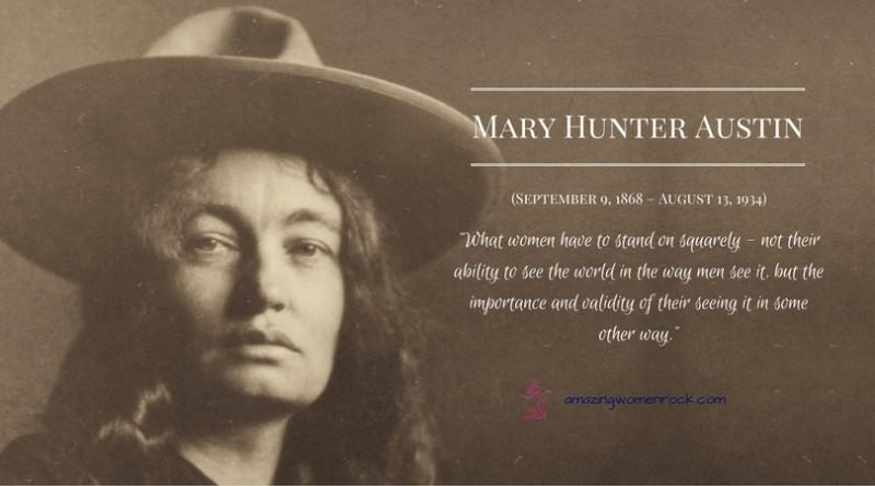 Mary Hunter Austin (Author)