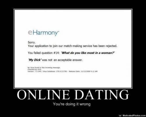 How to answer online dating