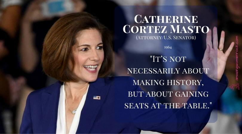 Catherine Cortez Masto (Attorney/Politician)