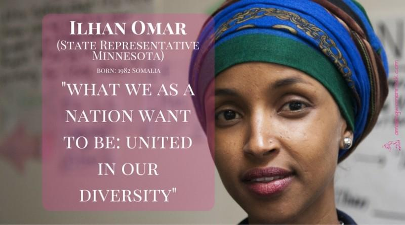 Ilhan Omar (Politician/State Representative/Refugee)