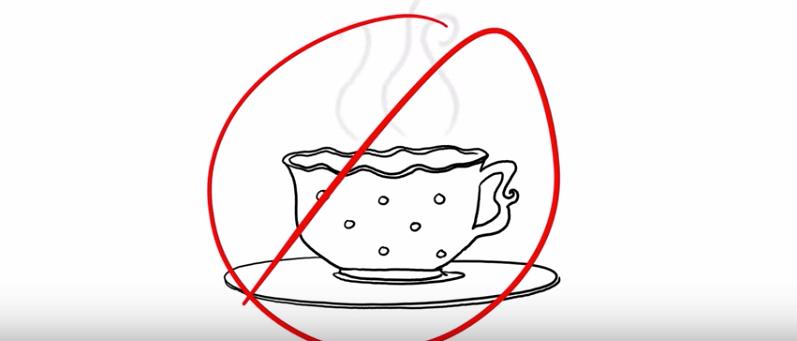 Unconscious people don't want tea